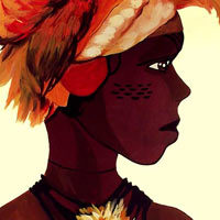 Mujer africana guerrera