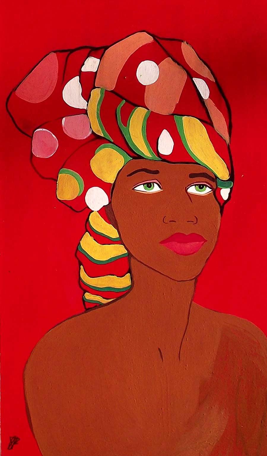 Mujer africana 1