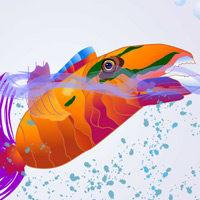 Ilustración El Pez de colores