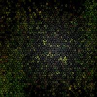Vidrieras en verdes y negros