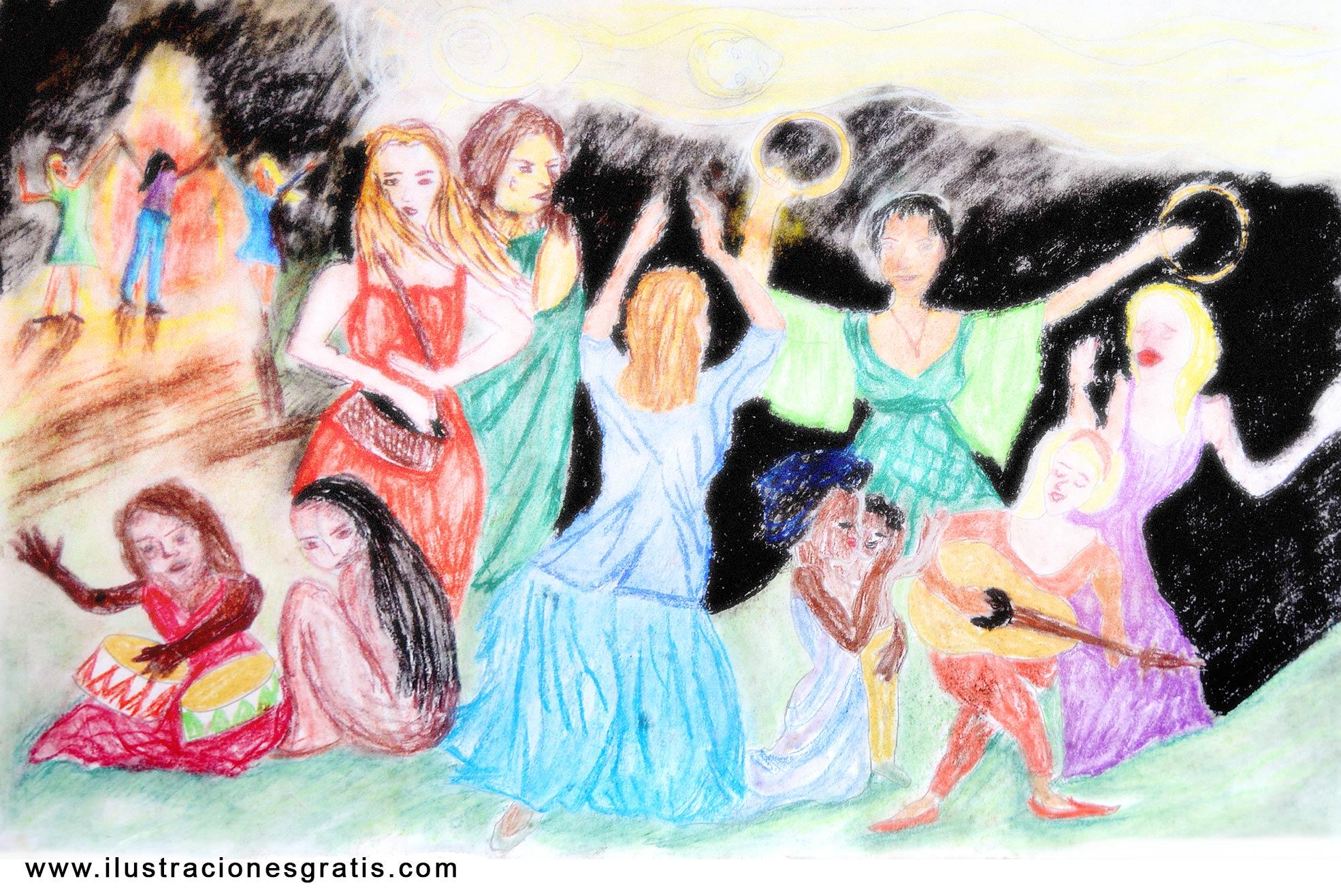 Ilustración gratis - Celebraciones - Alegría de ser mujeres