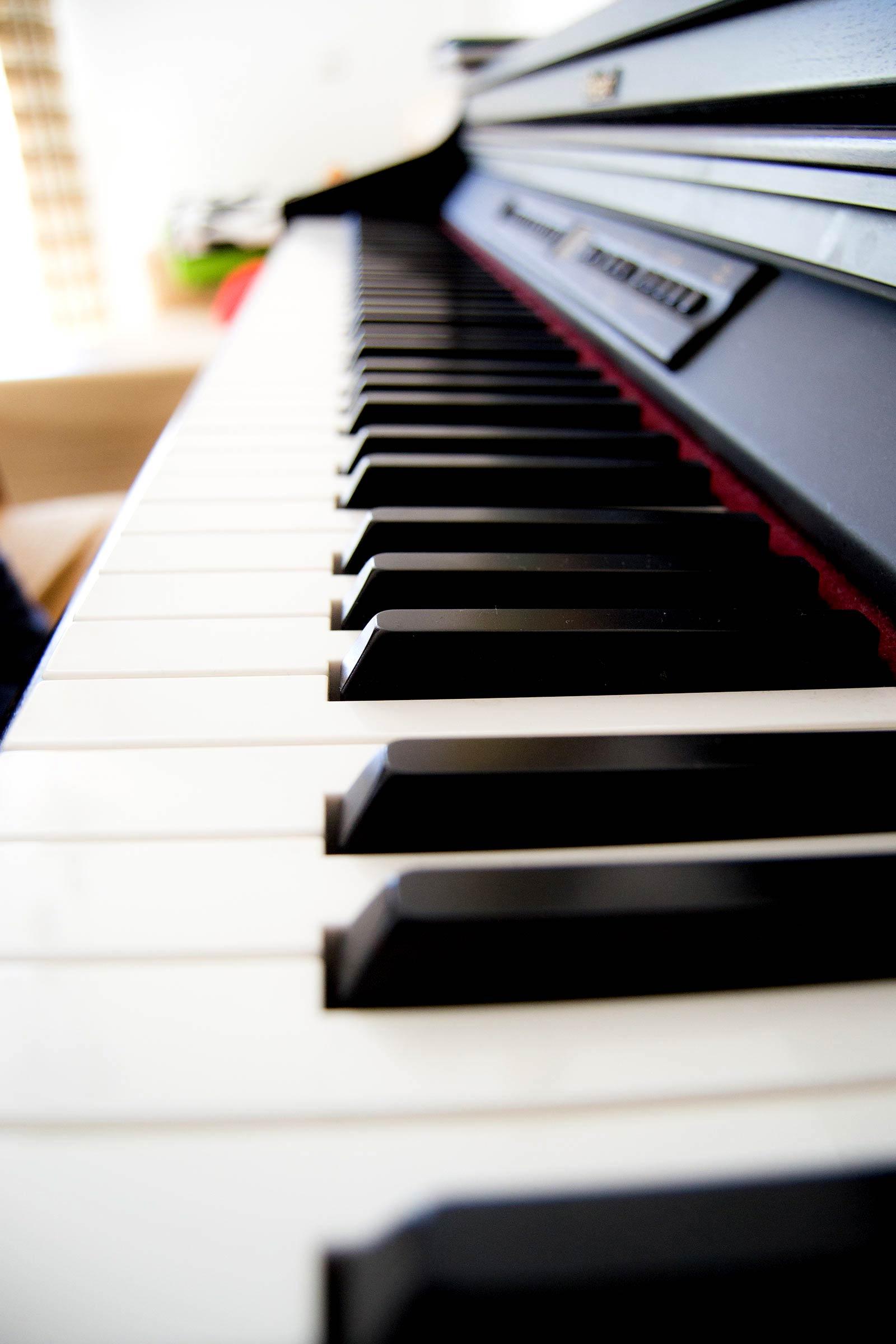Ilustración gratis - EL piano eléctrico fotografía