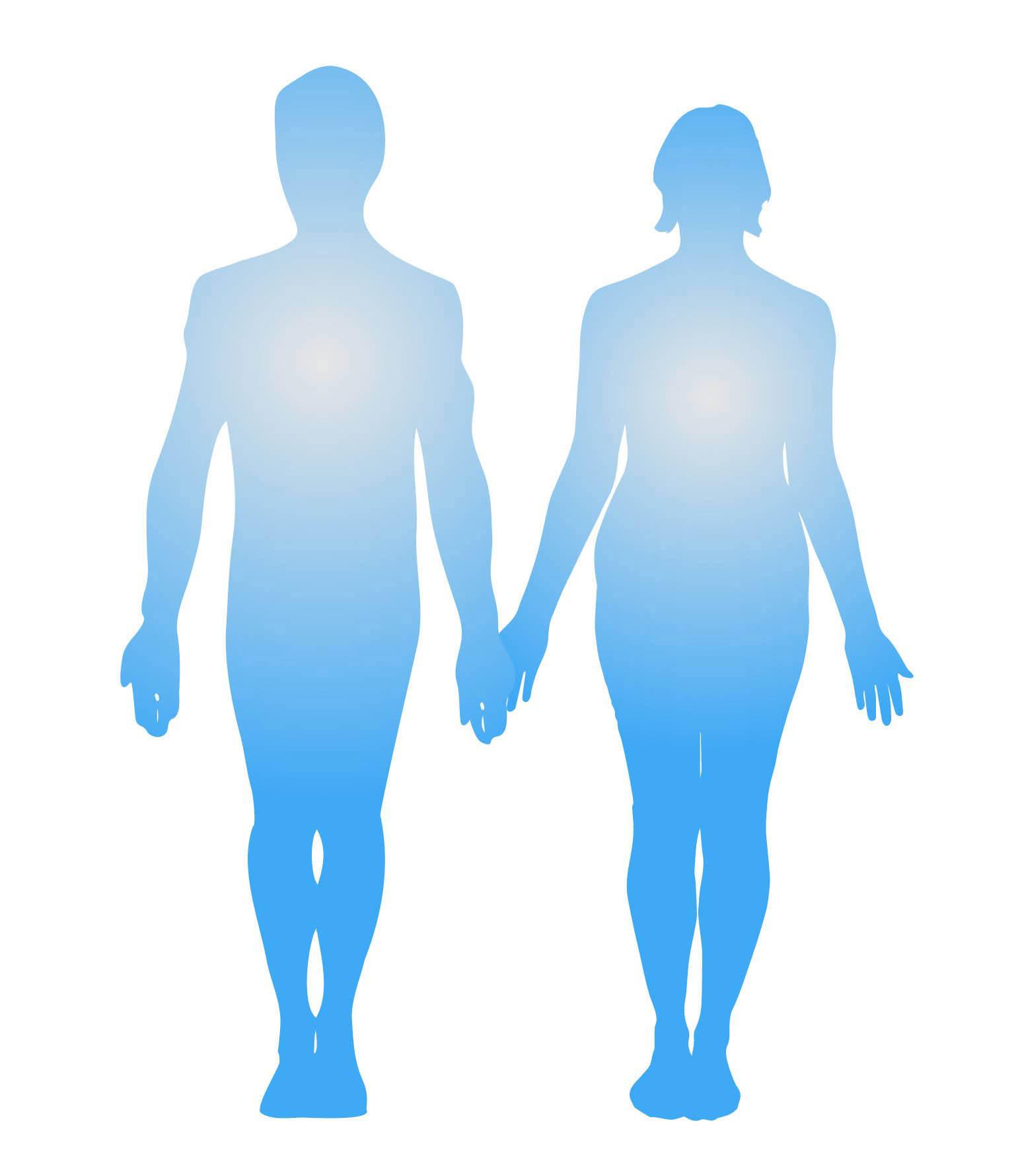 Ilustración gratis - El hombre y la mujer