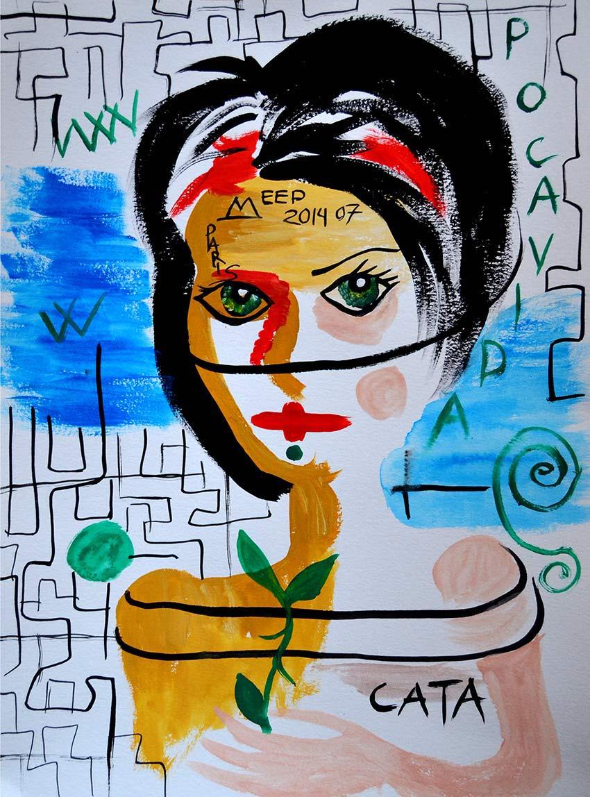 Ilustración gratis - Catalina