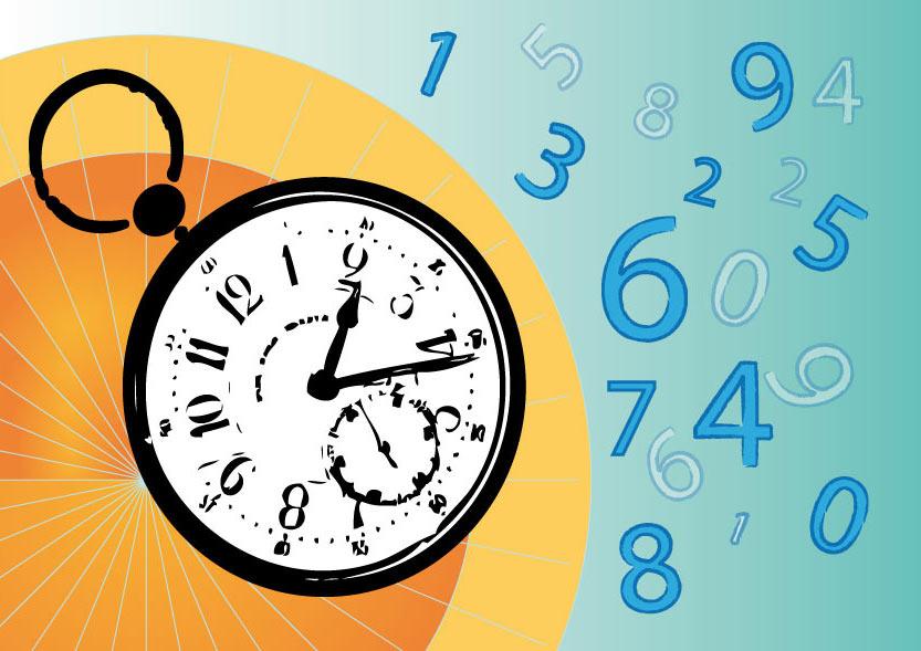 Ilustración gratis - El tiempo vuela