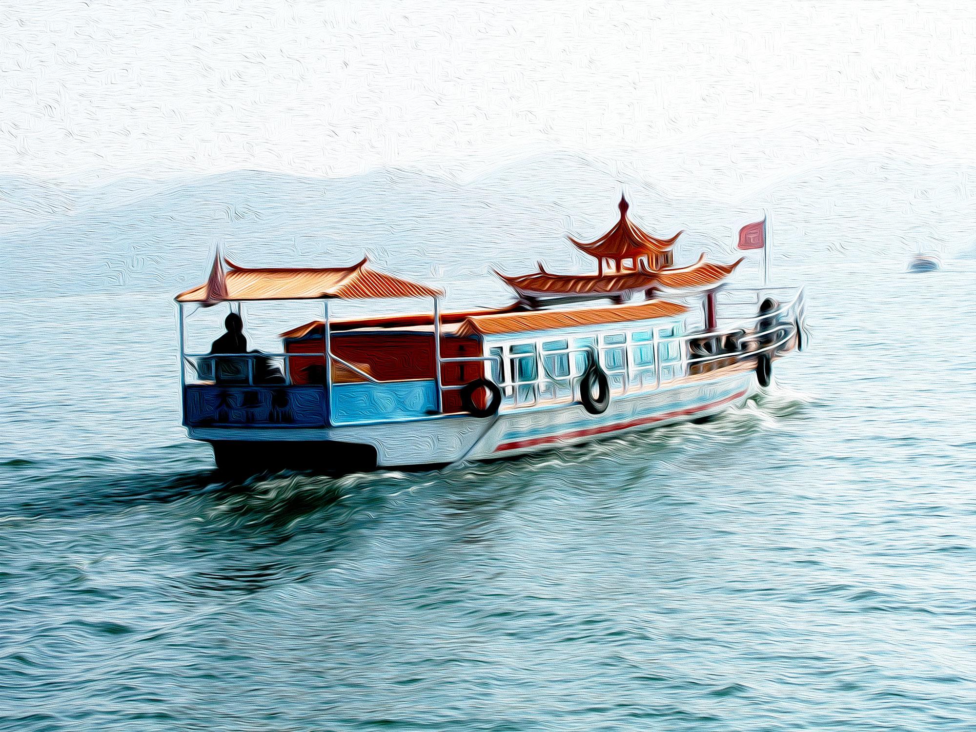 La barca china