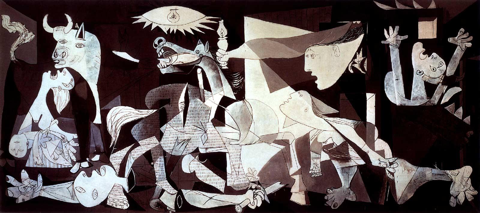 Ilustración gratis - El Guernica original