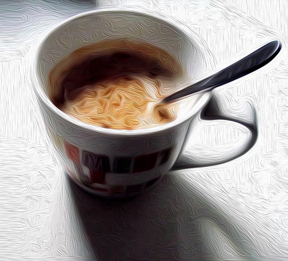 Ilustración gratis - Una taza de café
