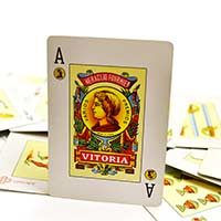 As de oros- Baraja de cartas española