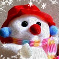 El pequeño muñeco de nieve