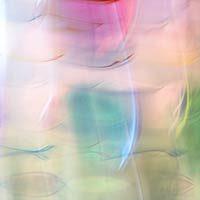 Textura de un cristal de colores