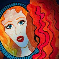 ¿Quién soy yo? Mujer mirándose en un espejo