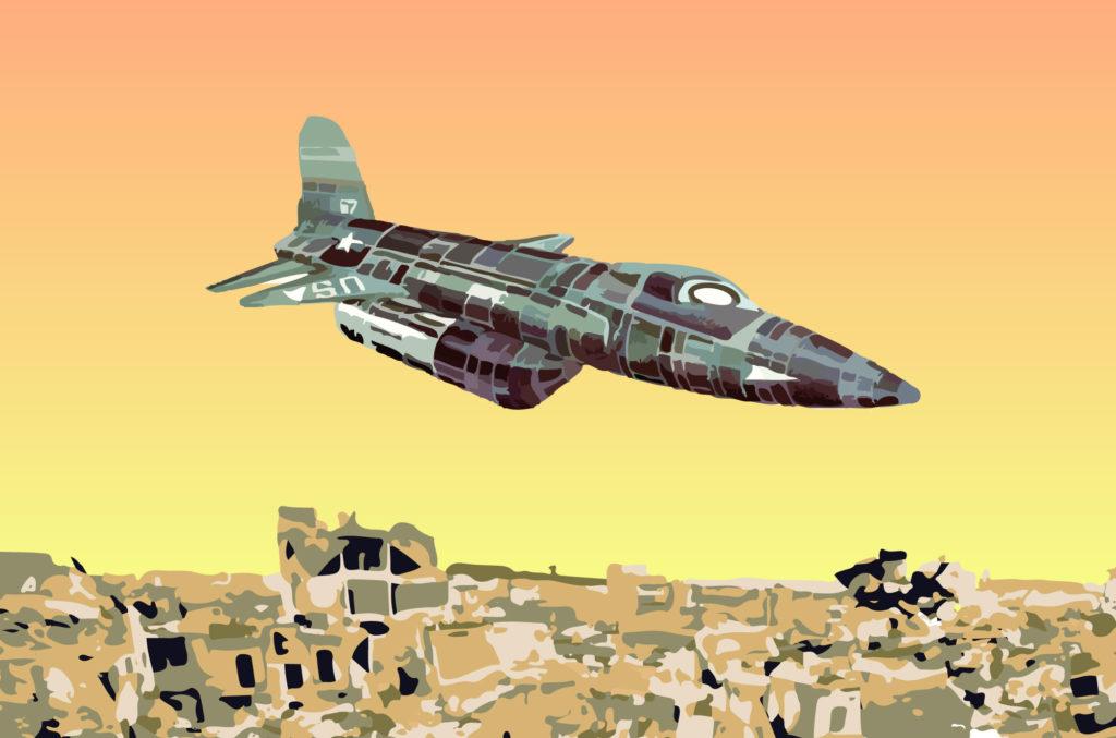 Ilustración Guerra, avión Aircraft