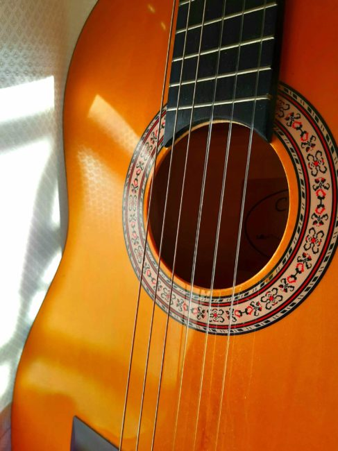 foto guitarra española cristina