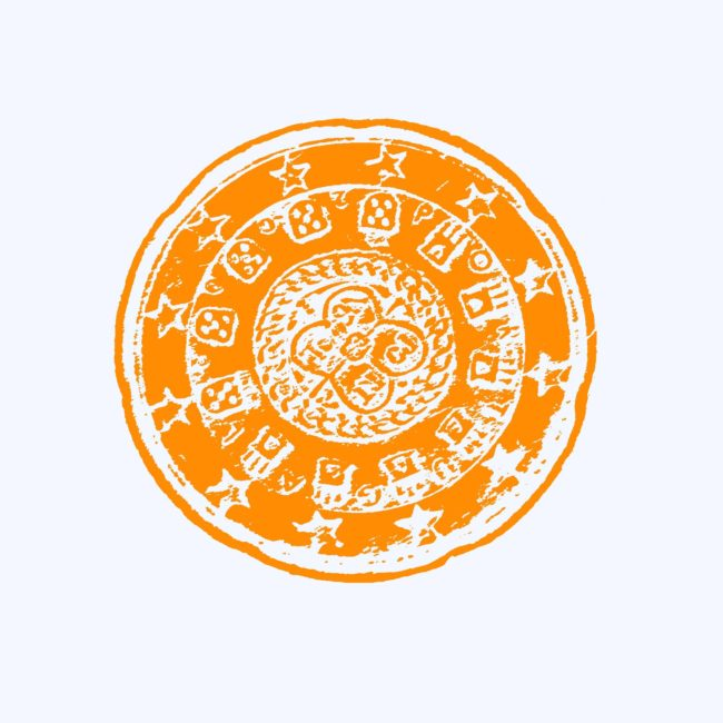 dibujo moneda- coin drawing