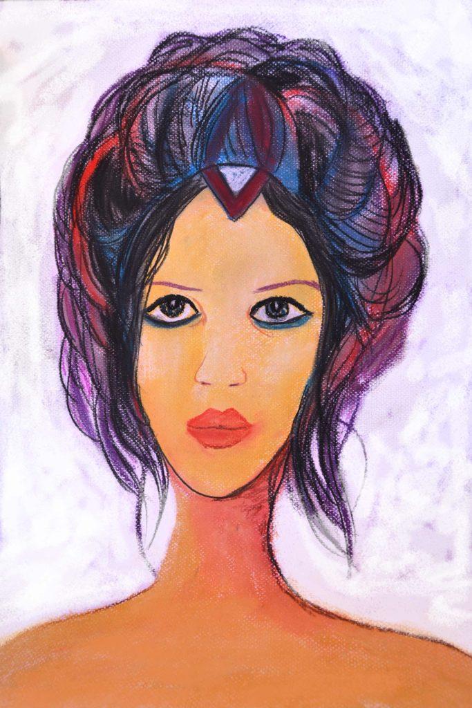mujer venus pintura