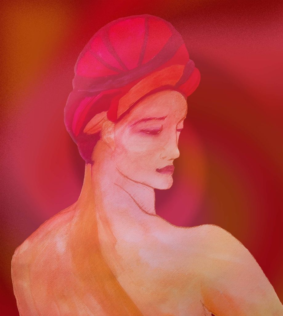 Pintura Hombre con turbante