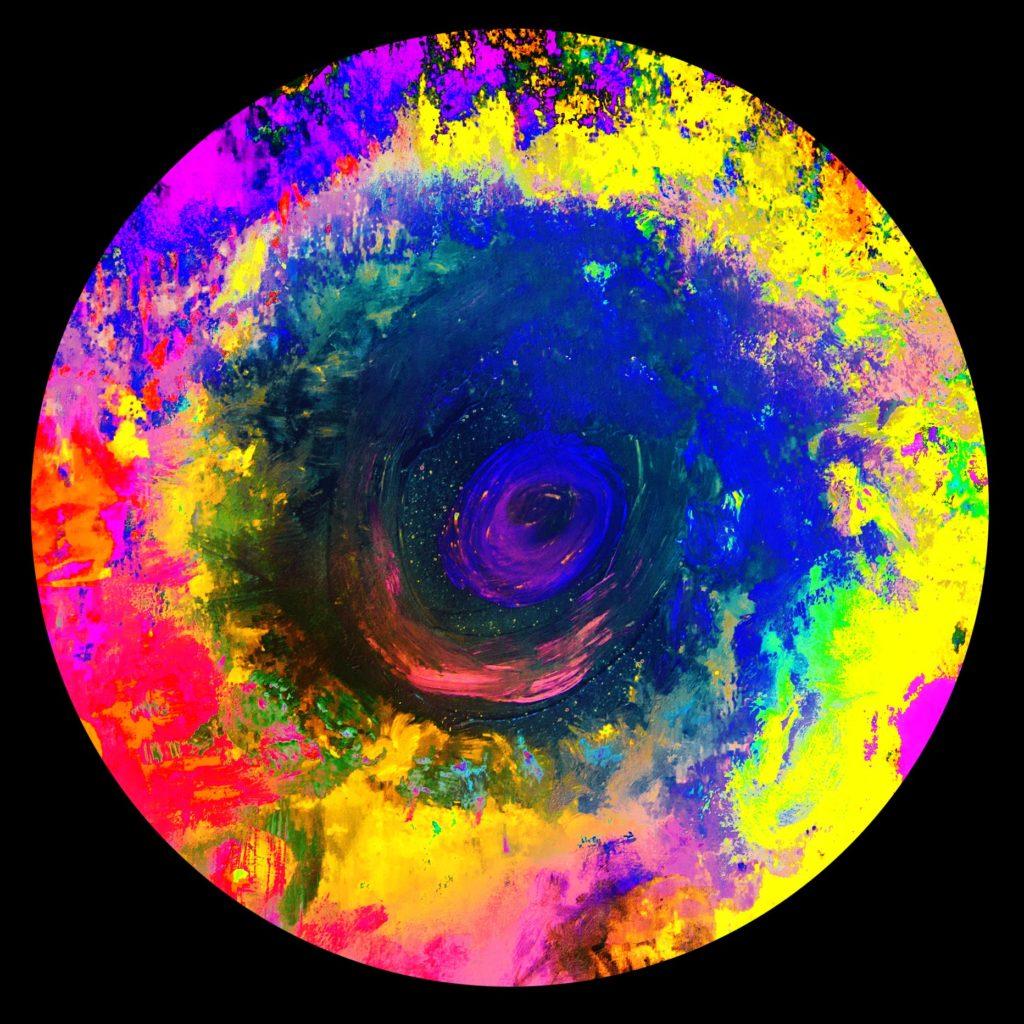 Diseño gráfico mundos coloristas