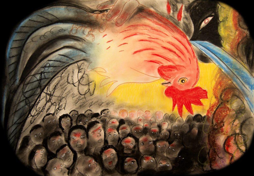 Ritual matanza del gallo